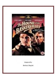 English Worksheet: The Hound of the Baskervilles