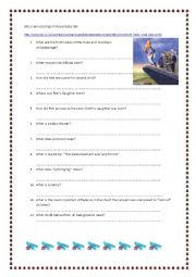 English Worksheet: Royal Baby Talk