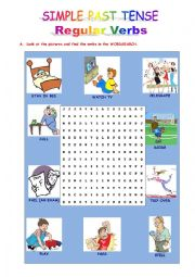 Simple Past Tense - Regular Verbs