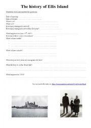 The history of Ellis Island