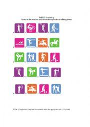 english worksheets the sports worksheets page 93. Black Bedroom Furniture Sets. Home Design Ideas