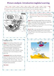 English Worksheet: Global warming : an introduction