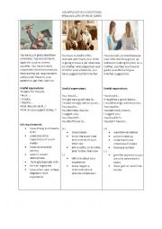 English Worksheet: Modals Speaking Activity
