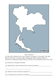 English Worksheet: Thailands Major Cities