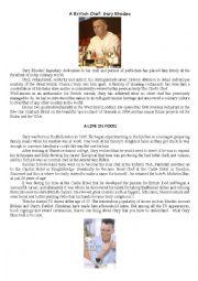 Gary Rhodes: a british Chef