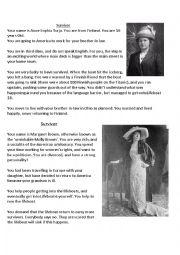 English Worksheet: Passengers� Stories- The Titanic