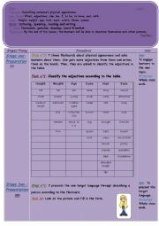 English Worksheet: Describing someone�s physical appearance