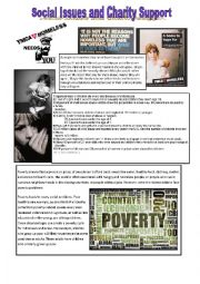 Social Issues, Charity, Fundraising Part 1
