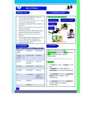 English Worksheet: Sport-Fitness- Speaking/Matching Activity/Vocabulary/Grammar