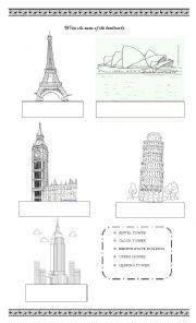 english worksheets places worksheets page 86. Black Bedroom Furniture Sets. Home Design Ideas