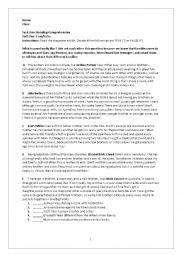English Worksheet: weekend worksheet