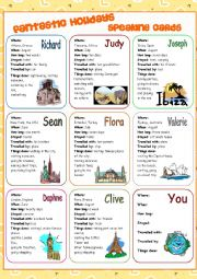 English Worksheet: Fantastic Holidays (speaking cards)
