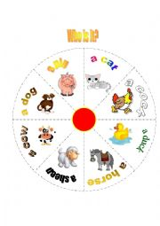 English Worksheet: domestic animals