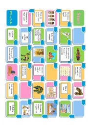 English Worksheet: Ancient Egypt board game