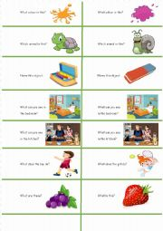 English Worksheet: 40 Easy class competition strips