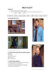 English Worksheet: Billy Elliot