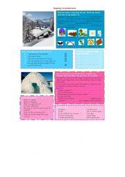 English Worksheet: Reading Comprehension 1