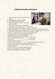 English Worksheet: The Terminal - ultimate quiz