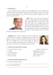 Revision worksheet