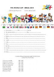 FIFA WORLD CUP MASCOTS - BRAZIL 2014
