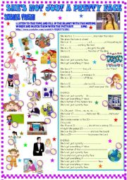 English Worksheet: Shania Twain: She�s not just a pretty face
