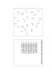 English Worksheet: Connect the dots