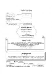 English Worksheet: Writing a Persuasive Letter