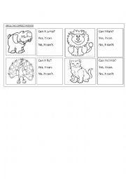 English Worksheet: circle the correct answer
