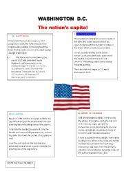 English Worksheet: Washington D.C.