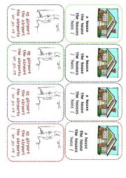 English Worksheet: Four-of-a-Kind Card Game Definite and Indefinite Articles - 7