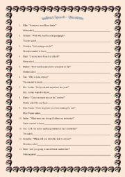 English Worksheet: Indirect Speech: Questions