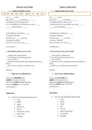 English Worksheet: TITANIUM by DAVID GUETTA