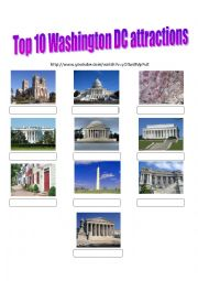VIDEO : WASHINGTON DC TOP  10 ATTRACTIONS