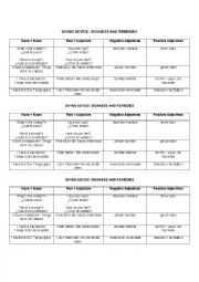 English Worksheet: Sicknesses and Remedies