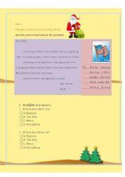 Reading Comprehension (Letter) II