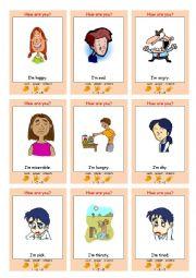 EMOTIONS Interactive Communication Game (Rock Paper Scissors)