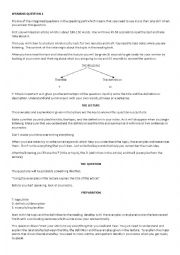 English Worksheet: TOEFL SPEAKING GUIDELINE AND TIPS FOR QUESTION 4