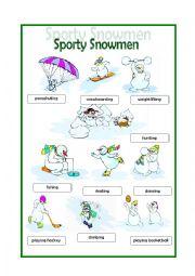 Sporty Snowmen