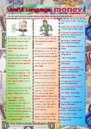 English worksheet: Money: Useful Language