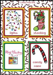 Christmas FLASHCARDS 5 - 5