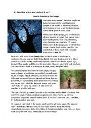 english worksheets reading worksheets page 138. Black Bedroom Furniture Sets. Home Design Ideas