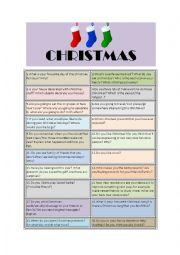 Christmas speaking