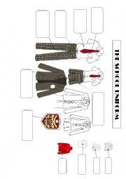 English Worksheet: The school uniform