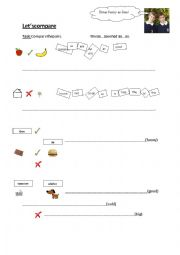 English Worksheet: As..as comparison of adjectives