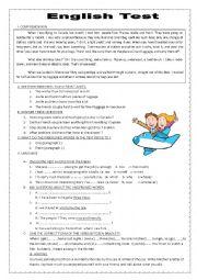 English Test (Exam)