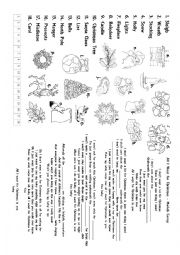 English Worksheet: All I Want for Christmas