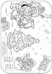 Christmas colouring 4