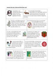 Seasonal role plays (Christmas/winter/New Year)