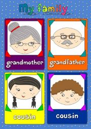 My family - flashcards (2/2)