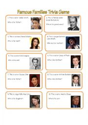 Famous Family Trivia Game